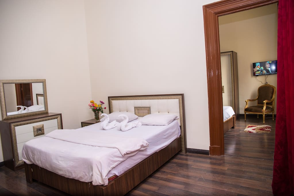Stylish 2 Bedrooms Studio In Cairo Downtown Boutique
