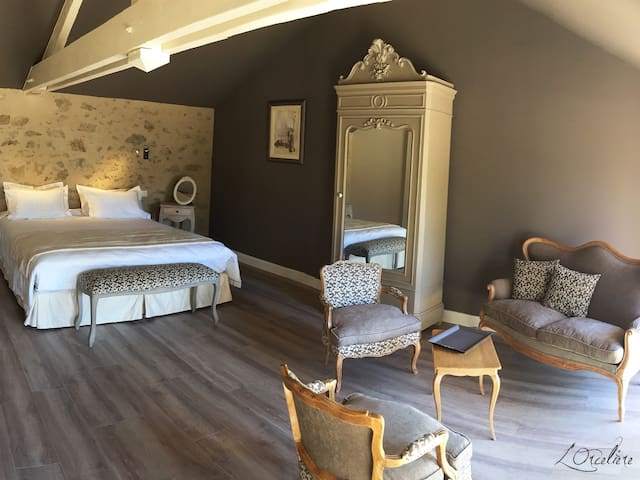 "chambres d'hotes l'orceliere ""Eugenie"" - Aizenay - Guesthouse"