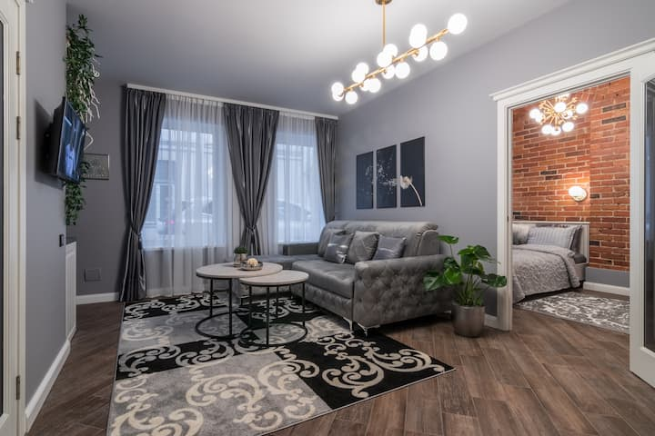 Dandelion apartment in the heart of Kaunas.