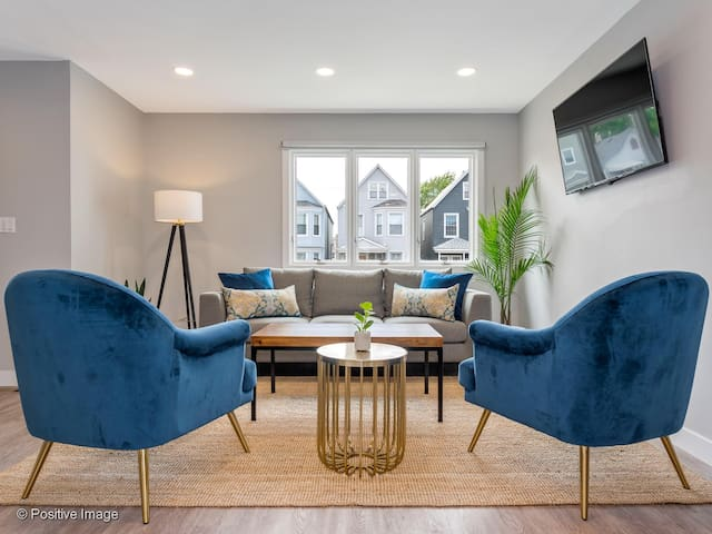 Modern Home: Up the street from hip Logan Square