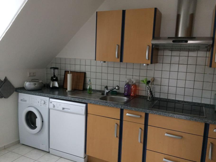 Schöne große 2 Zi Wohnung zentral ,Boxspringbett Wohnungen zur Miete in Kaiserslautern