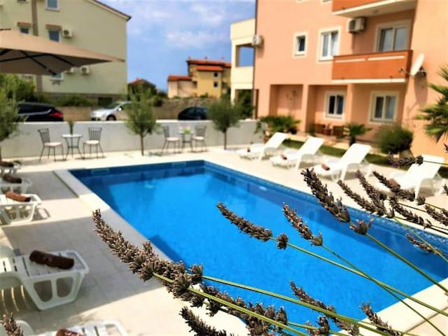 Two bedroom apartment with pool