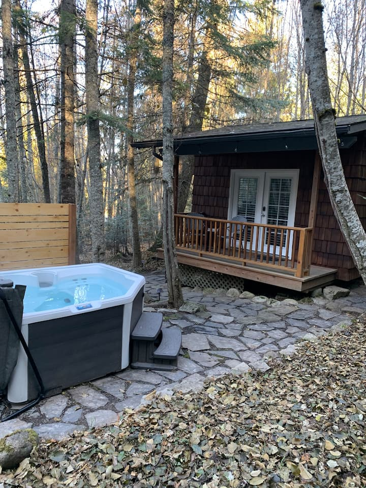 Enchanted Cabin in the Woods with Private Hot tub