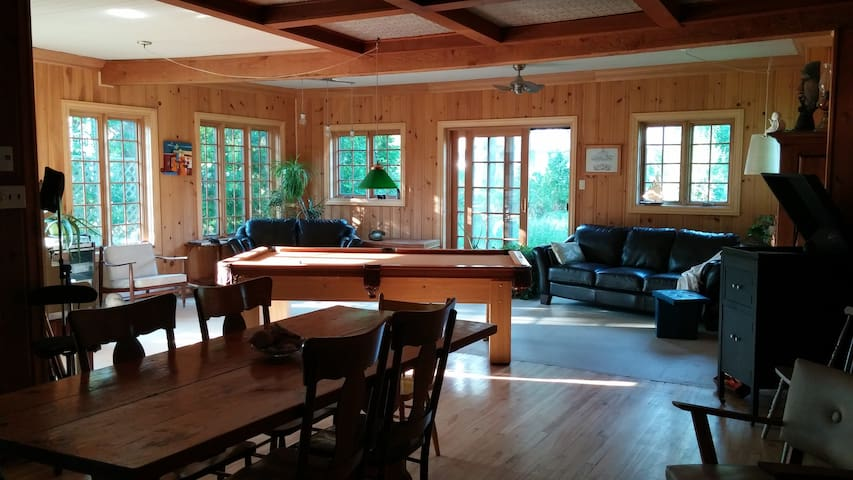 The perfect place to enjoy winter! - Val-Morin - House