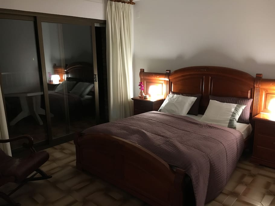 Master Bedroom by Night