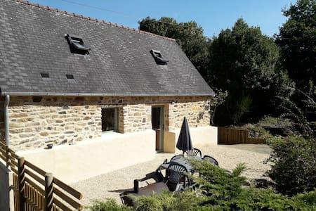 Charmante petite maison à la campagne-proche bourg