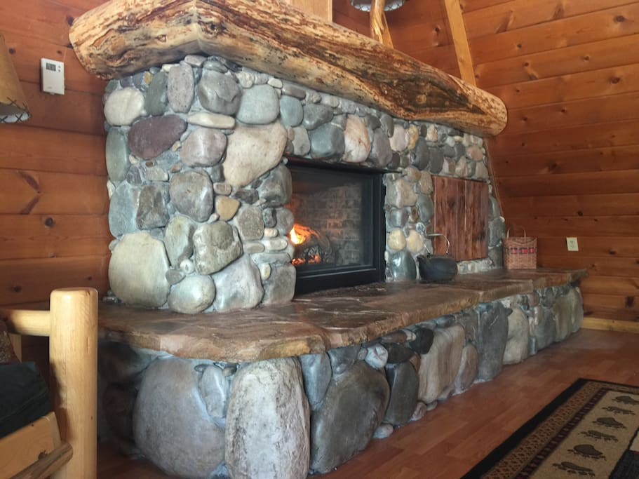 We love this fireplace! It turned out just as we'd hoped it would.