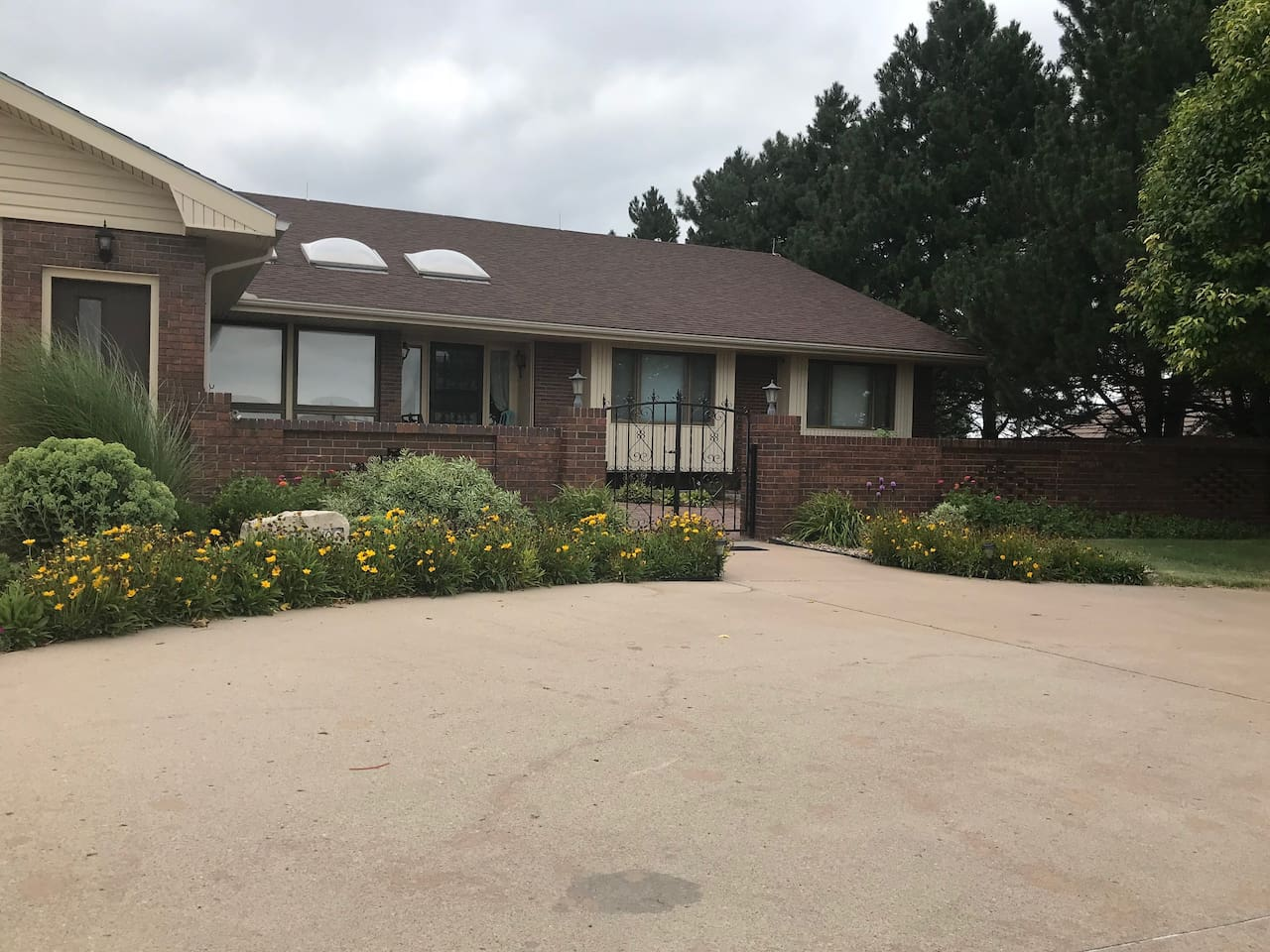 Beautiful spacious home located just inside city limits.  Amazing sunset views!