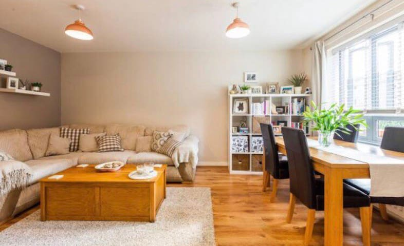 Private one bedroom flat with garden