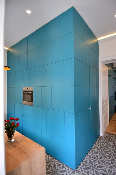 deign kitchen wall