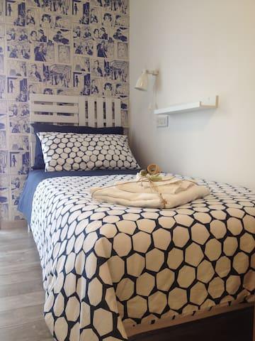 La camera doppia a Lentini, ideale per due amici