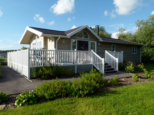 Willow Lodge, Mercia Marina, South Derbyshire - Willington - Natur-Lodge