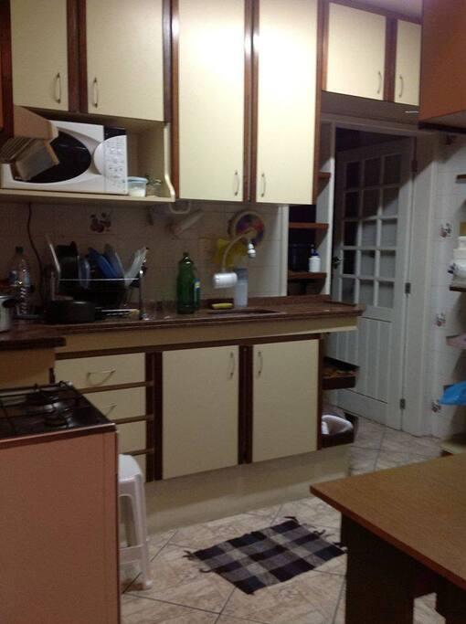 Cozinha equipada à sua disposição