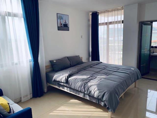 浈江「御嘉苑」-城外恬静精致一居室超大床房