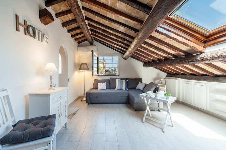 NEW LUXURY SWEET PENTHOUSE - CAMPO DE' FIORI
