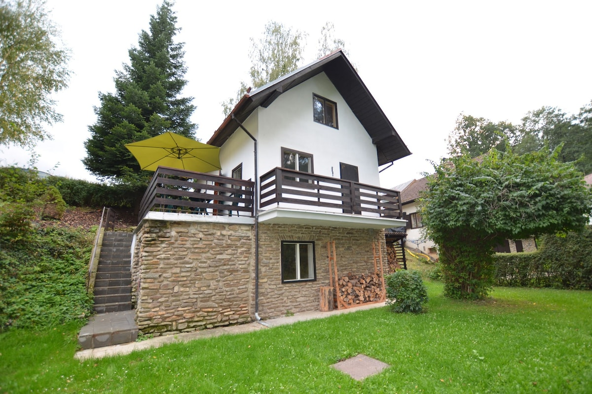 Vrijstaand huis met grote tuin ruim terras en balkon gezellige
