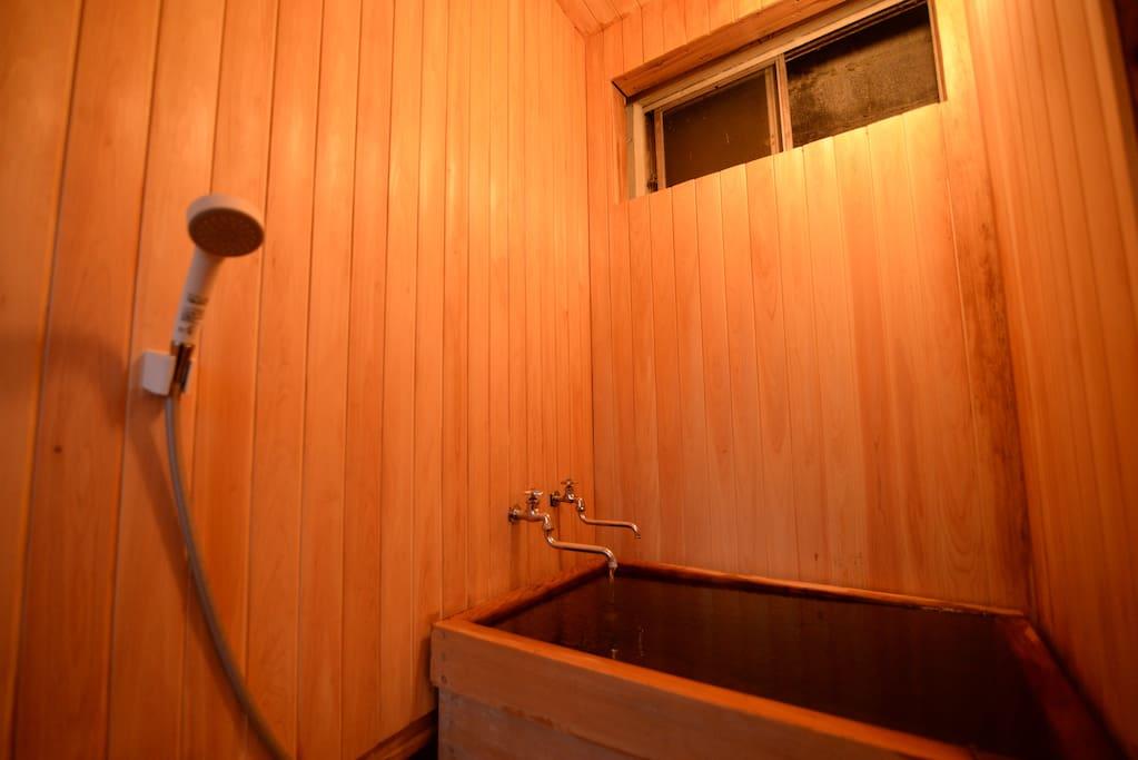 温泉は24時間入れます。