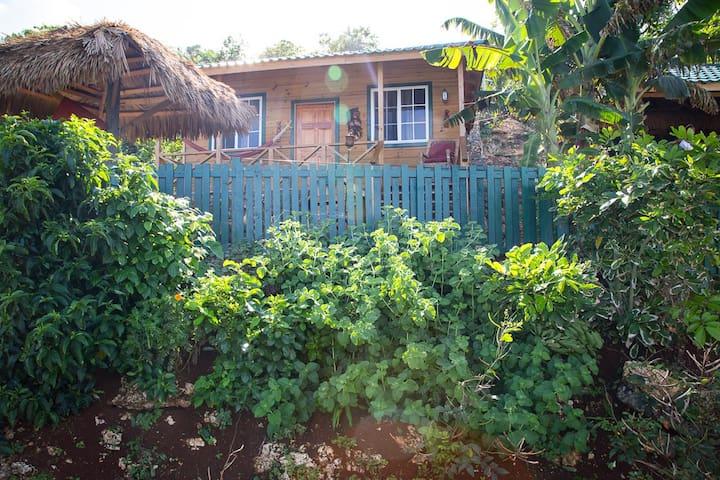Villa Rasta/Bungalow #1. - Long Bay - Cabaña