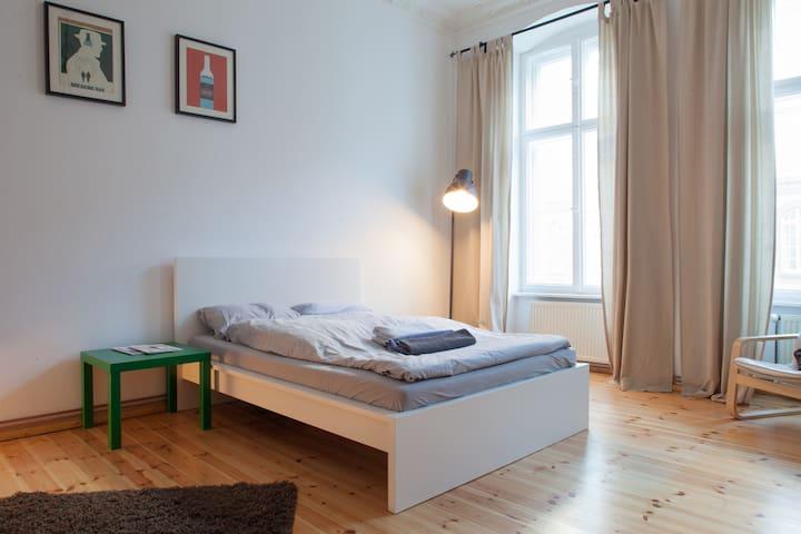 Calm & beautiful apartment in the center of Berlin - Berlín - Departamento