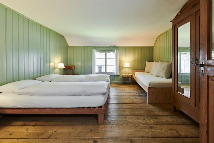 Fischerhäuser, Übernachten im Baudenkmal, 3-Bett