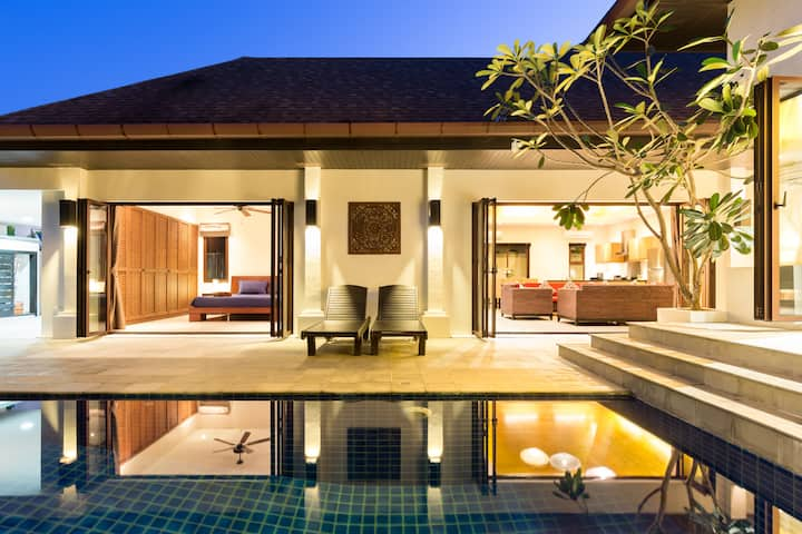 Balinese Boutique villa in Rawai, 3 bedrooms