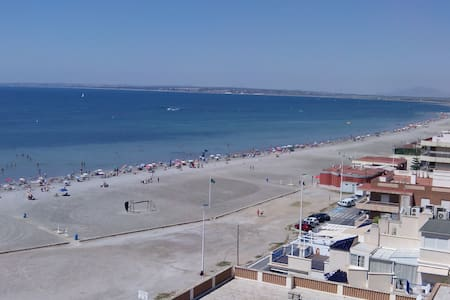Beach apartment with spectacular views - Apartemen