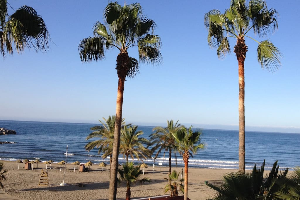 Marbella Promenade, Sea View, 5min walk