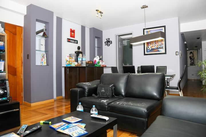 Moderno Apartamento 3 habitaciones