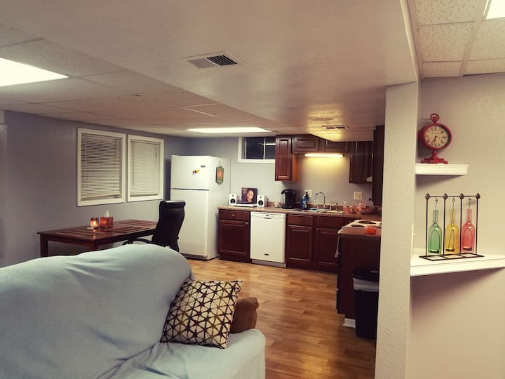 Voted #1 space to stay in KC! Private everything!