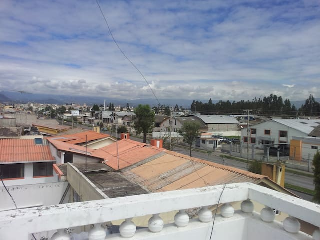 Beautifull private room with an awesome view - Riobamba - Hus