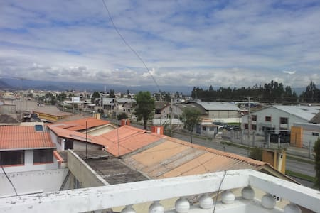 Beautifull private room with an awesome view - Riobamba - Rumah