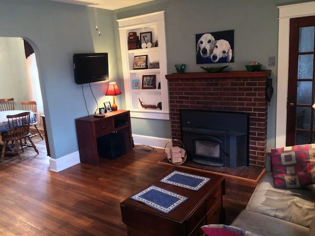 Large house and garden in East End - pet-friendly!