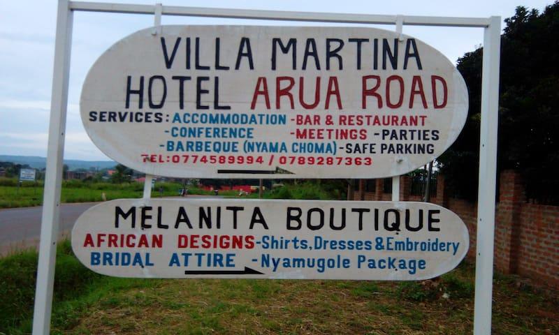 Villa Martina, Nebbi - Uganda