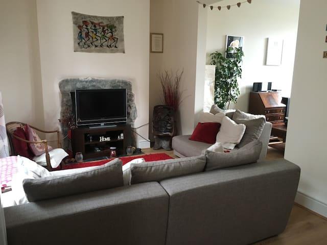 Cosy Snowdonia Quarrymans Cottage - Penmaenmawr - Casa