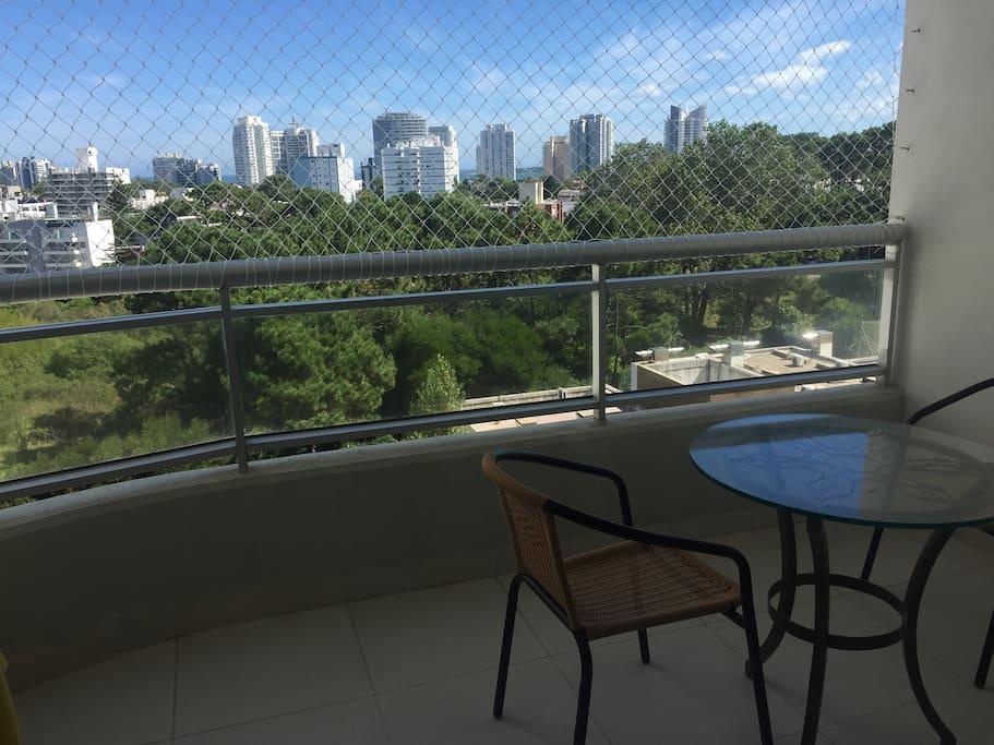 Vista del balcón