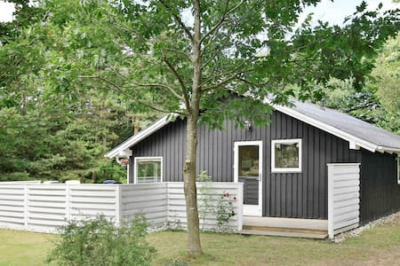 Contemporary Holiday Home in Oksbøl with Terrace