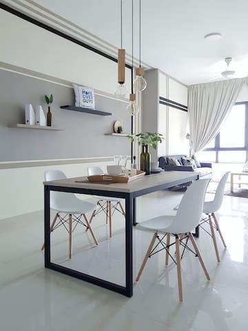 Modern & cozy unit @ Pandora Residences-2 bedrooms