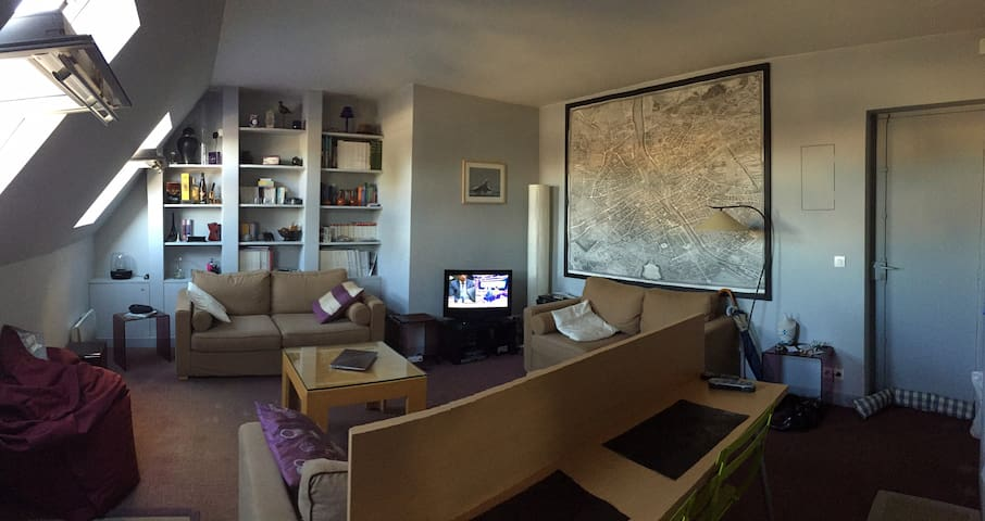 Charming apartment with view in the heart of Paris - Париж - Квартира