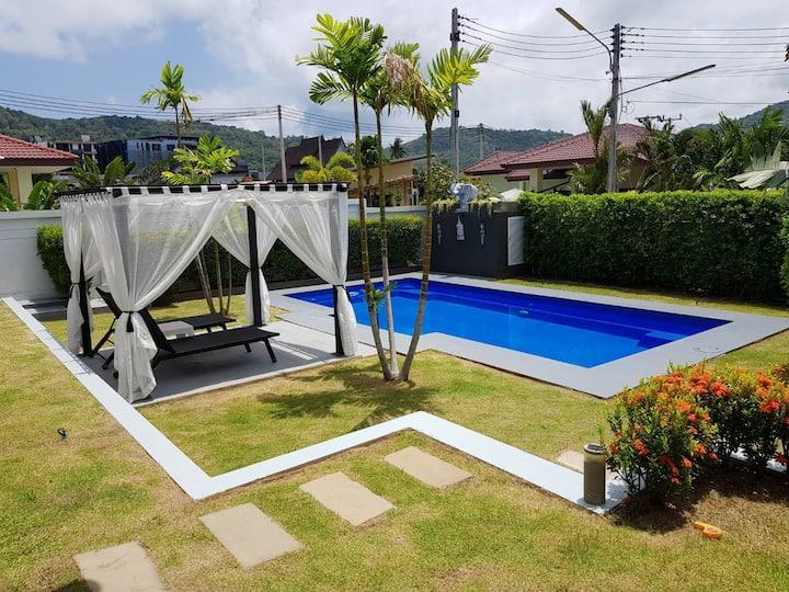 Villa Naiharn privat 3 bedroom poolvilla