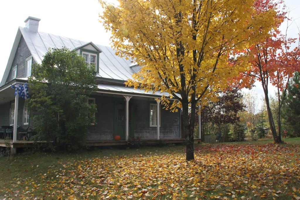 les couleurs d'automne...