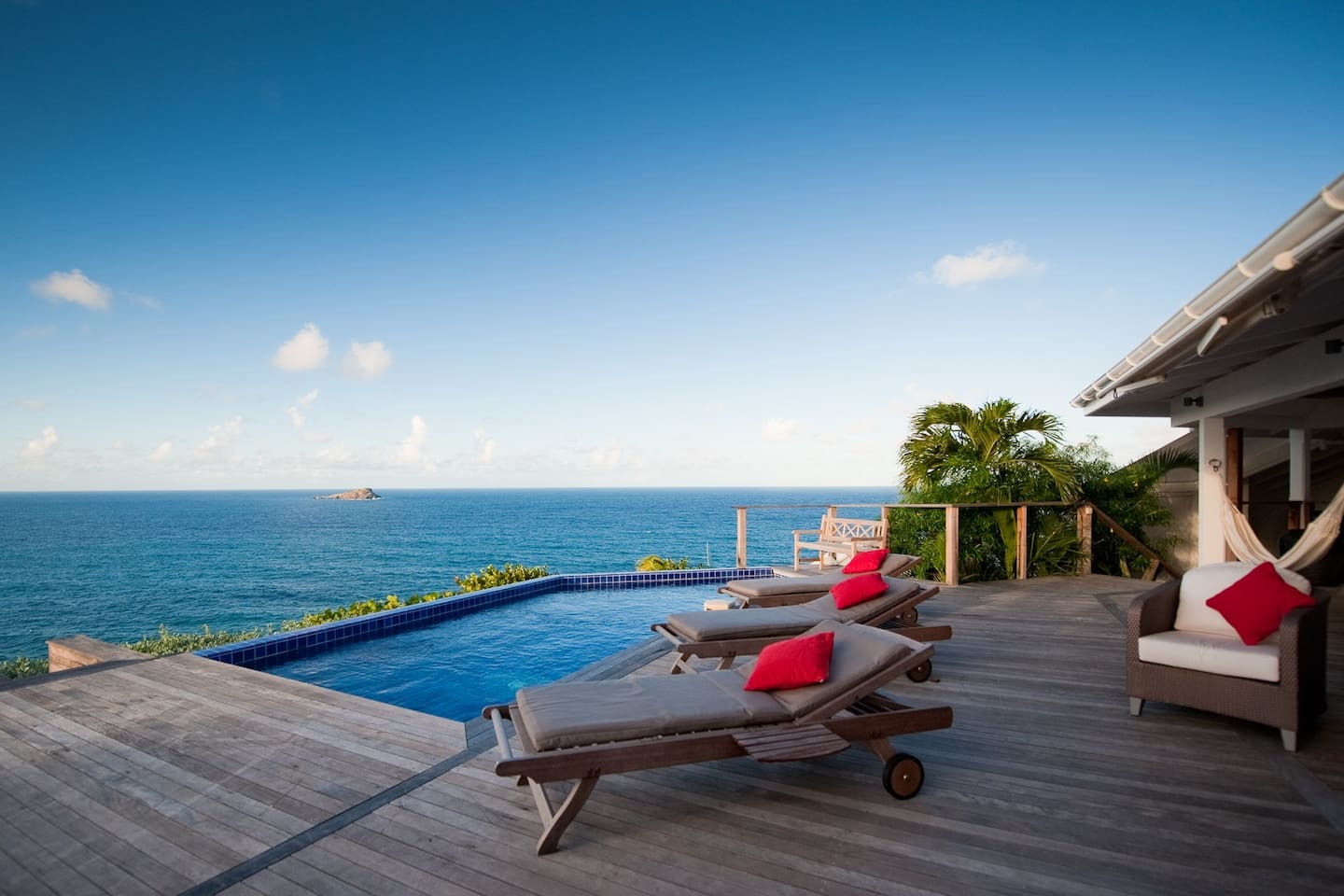 """""""….This island and your villa have again provided a much needed oasis from a troubled world ... Thank you for another idyllic week on St. Barth's, enjoying your beautiful home…"""""""