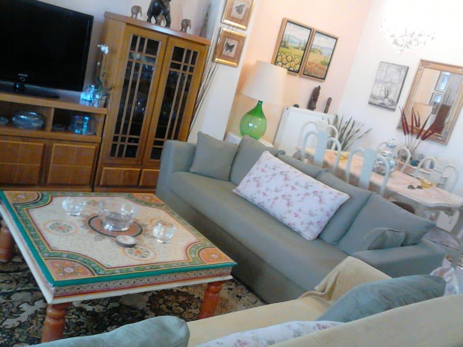 living-room, dining-room