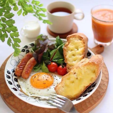 Upgraded Breakfast