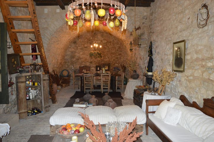Traditional stone house - Museum - Agios Ioannis
