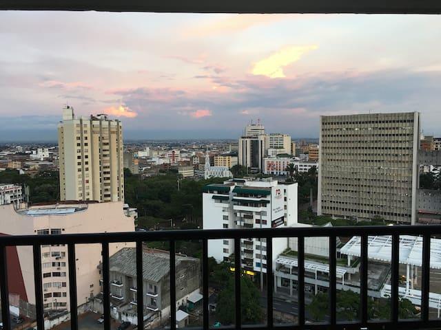 Hermoso apartamento 1H/2B terrazas Granada - Cali - Lejlighed