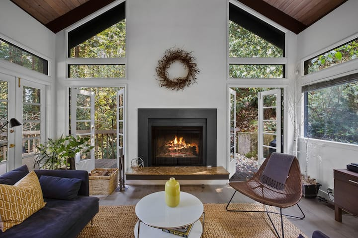 Secluded & Private Cottage, A Mill Valley Hideaway