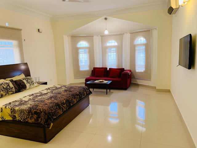 BedRoom 1 in DHA in a Bungalow