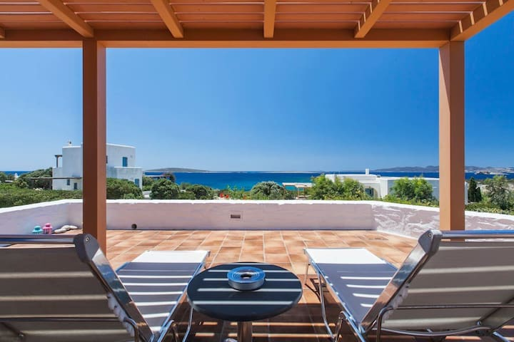 Seafront Villa in front of beach! - Paros - Dům