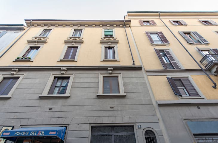 MILANESE flat in modern city centrefor 4 pax