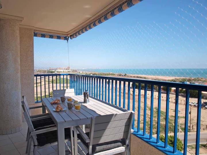 ApartUP Patacona Panoramic. WiFi+AACC+PK+Pool
